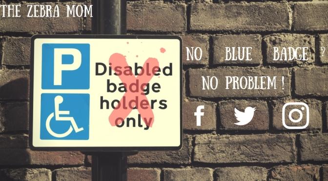 No blue badge? No problem!